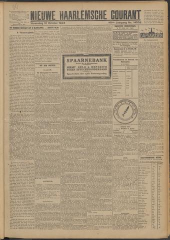 Nieuwe Haarlemsche Courant 1923-10-10