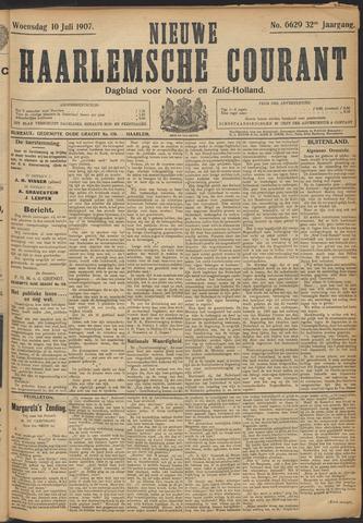 Nieuwe Haarlemsche Courant 1907-07-10