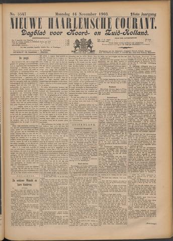 Nieuwe Haarlemsche Courant 1903-11-16