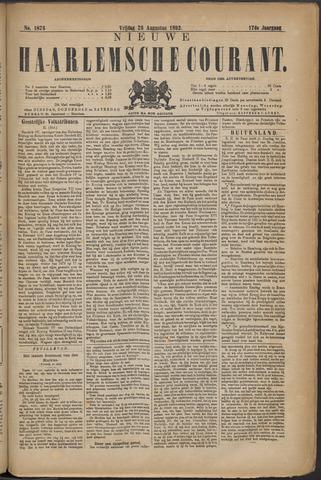 Nieuwe Haarlemsche Courant 1892-08-26