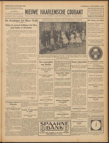 Nieuwe Haarlemsche Courant 1933-09-09