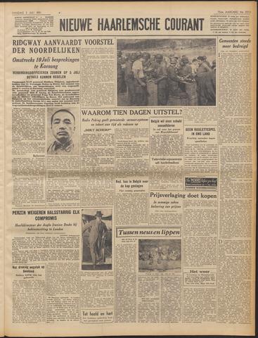 Nieuwe Haarlemsche Courant 1951-07-03