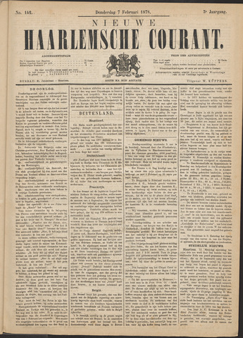 Nieuwe Haarlemsche Courant 1878-02-07