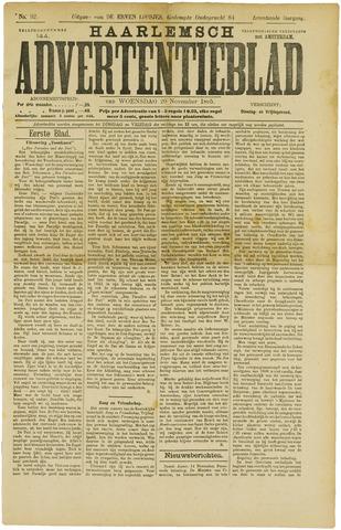 Haarlemsch Advertentieblad 1895-11-20