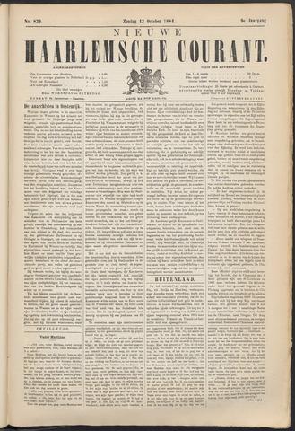 Nieuwe Haarlemsche Courant 1884-10-12