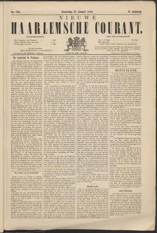 Nieuwe Haarlemsche Courant 1884-01-31