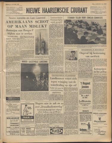 Nieuwe Haarlemsche Courant 1962-10-19