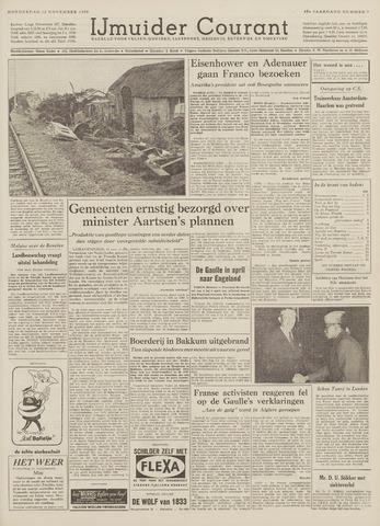 IJmuider Courant 1959-11-12