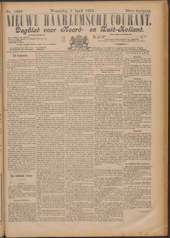 Nieuwe Haarlemsche Courant 1905-04-05