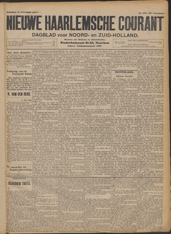 Nieuwe Haarlemsche Courant 1907-10-15