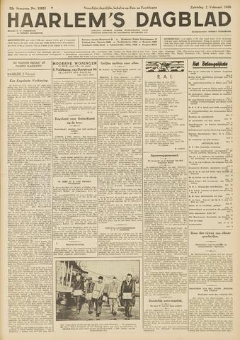 Haarlem's Dagblad 1935-02-02