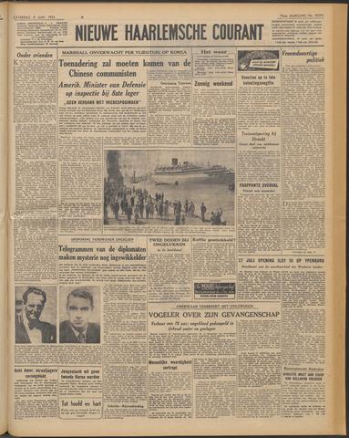 Nieuwe Haarlemsche Courant 1951-06-09