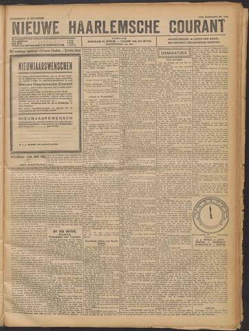 Nieuwe Haarlemsche Courant 1921-12-22