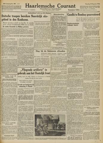 Haarlemsche Courant 1942-08-10