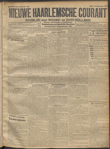 Nieuwe Haarlemsche Courant 1915-02-22