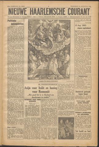 Nieuwe Haarlemsche Courant 1946-08-14