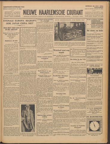Nieuwe Haarlemsche Courant 1934-07-22