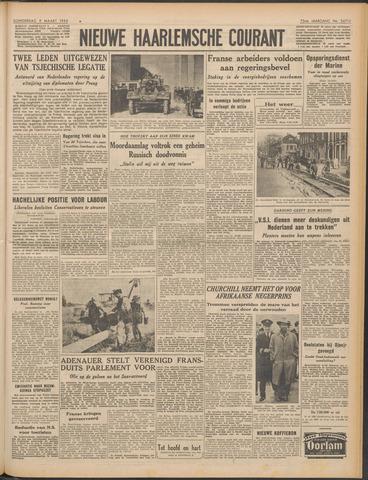 Nieuwe Haarlemsche Courant 1950-03-09