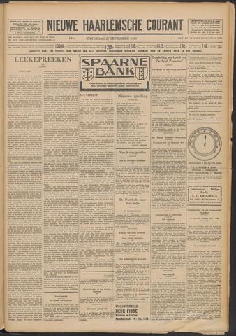 Nieuwe Haarlemsche Courant 1930-09-27