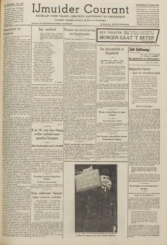 IJmuider Courant 1939-04-27