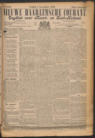 Nieuwe Haarlemsche Courant 1901-11-01