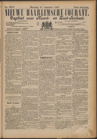 Nieuwe Haarlemsche Courant 1905-08-21