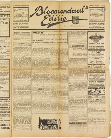Bloemendaal's Editie 1927-11-26