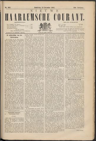 Nieuwe Haarlemsche Courant 1885-12-24