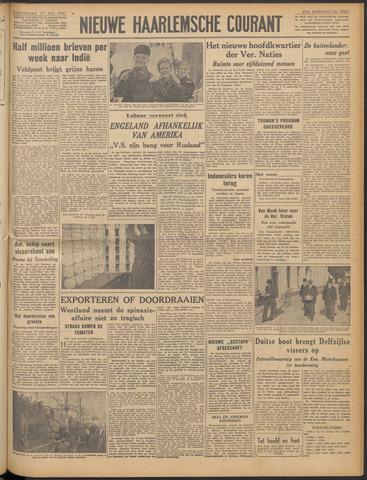Nieuwe Haarlemsche Courant 1947-05-22