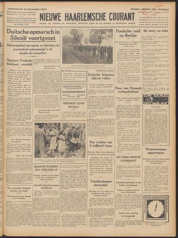 Nieuwe Haarlemsche Courant 1939-09-06