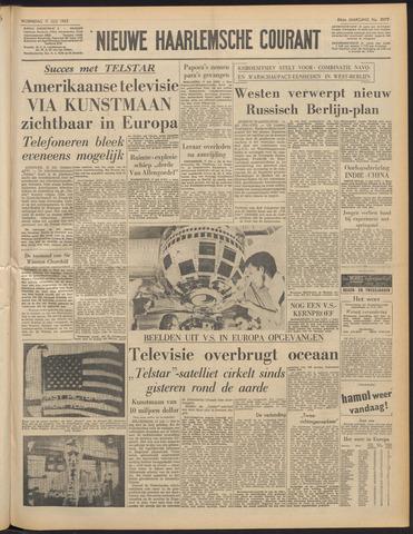 Nieuwe Haarlemsche Courant 1962-07-11
