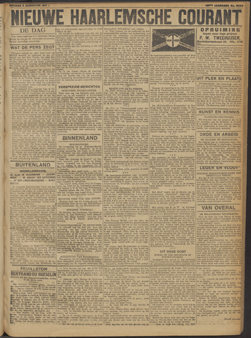 Nieuwe Haarlemsche Courant 1917-08-03