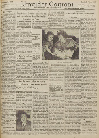 IJmuider Courant 1948-02-14