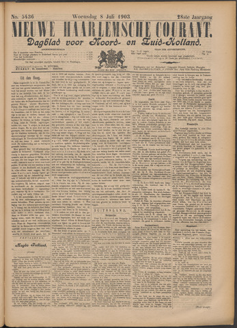 Nieuwe Haarlemsche Courant 1903-07-08