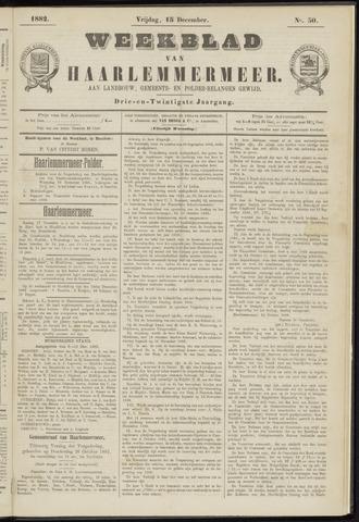 Weekblad van Haarlemmermeer 1882-12-15
