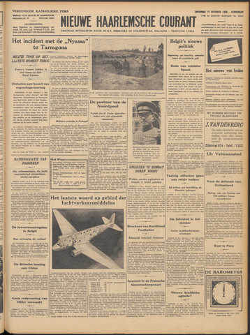 Nieuwe Haarlemsche Courant 1936-10-17