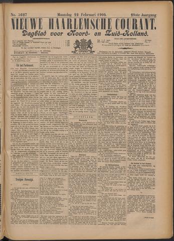 Nieuwe Haarlemsche Courant 1904-02-22