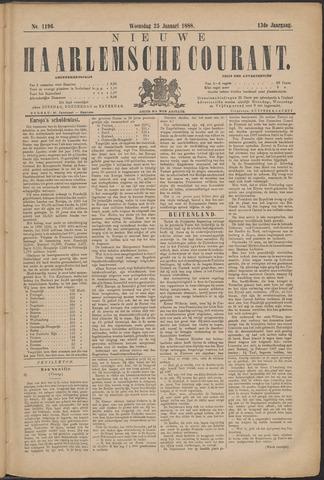 Nieuwe Haarlemsche Courant 1888-01-25