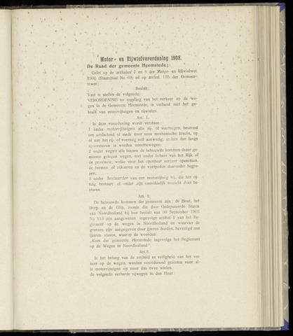 Raadsnotulen Heemstede 1908-06-04