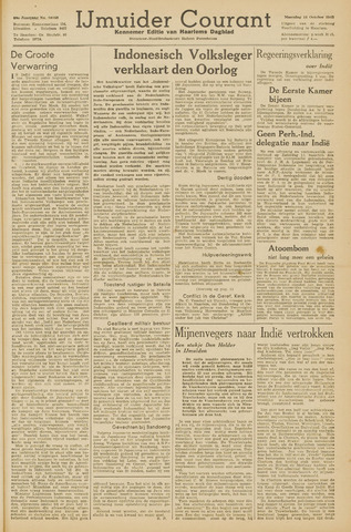 IJmuider Courant 1945-10-15