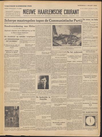 Nieuwe Haarlemsche Courant 1933-03-01