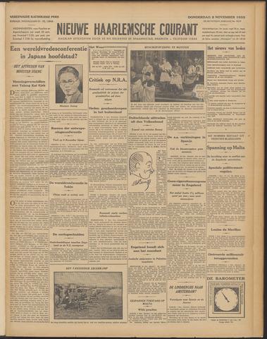 Nieuwe Haarlemsche Courant 1933-11-02
