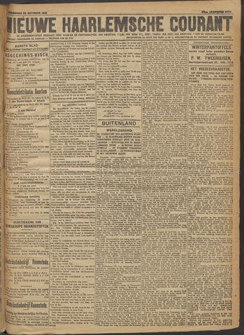 Nieuwe Haarlemsche Courant 1918-10-23