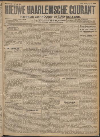 Nieuwe Haarlemsche Courant 1915-04-07