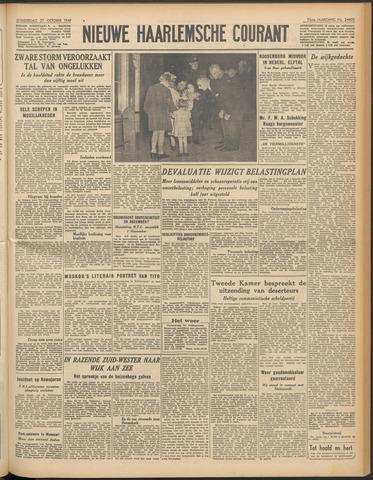 Nieuwe Haarlemsche Courant 1949-10-27