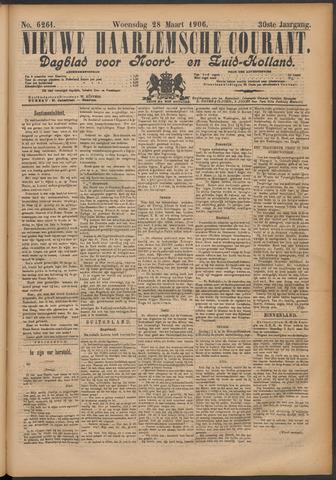 Nieuwe Haarlemsche Courant 1906-03-28