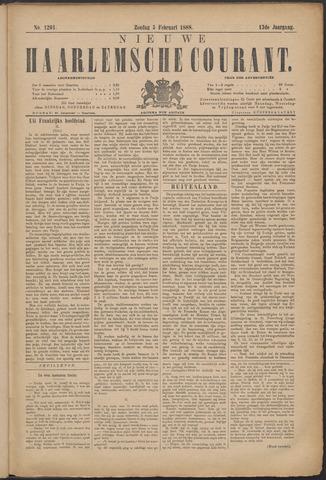 Nieuwe Haarlemsche Courant 1888-02-05