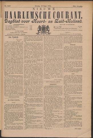 Nieuwe Haarlemsche Courant 1898-03-22