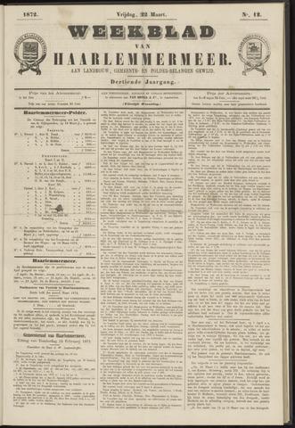 Weekblad van Haarlemmermeer 1872-03-22