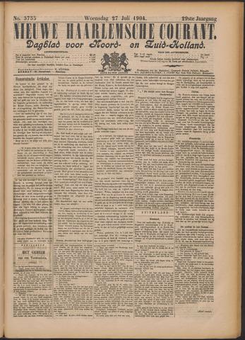 Nieuwe Haarlemsche Courant 1904-07-27